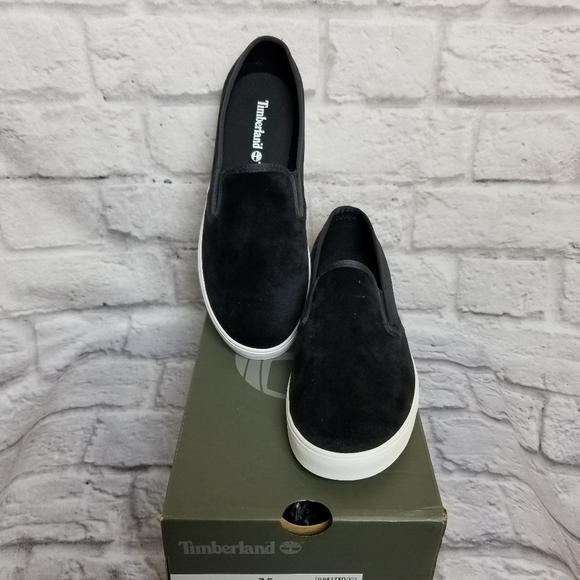 Timberland Dausette Slipon Black Velvet